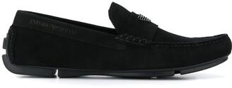 Emporio Armani driving loafers