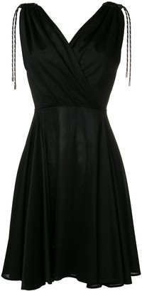 Neil Barrett tie shoulder dress