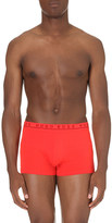 HUGO BOSS Pack of three plain stretch-cotton trunks