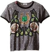 Dolce & Gabbana City Dot and Rose T-Shirt (Toddler/Little Kids)