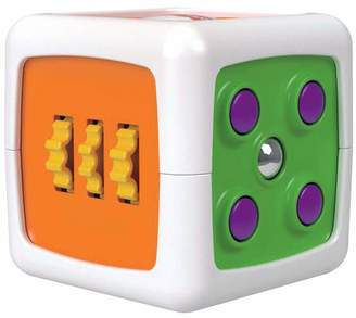 Fisher-Price My First Fidget Cube Baby Activity and Sensory Toy with Different Textures Colours and Sounds 6 Months Plus