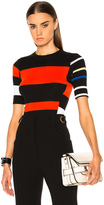 Proenza Schouler Lightweight Cotton Crewneck Sweater