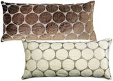 Bed Bath & Beyond Bead Cutout Oblong Throw Pillow in Light Brown