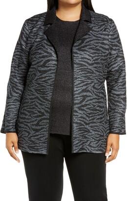 Ming Wang Reversible Jacket