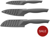 Berghoff Eclipse 3-piece Stainless Steel Knife Set