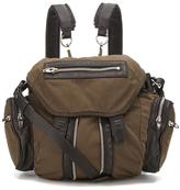 Alexander Wang Women's Mini Marti Military Nylon/Leather Backpack Military