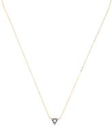 Ila Trianza 14K Yellow gold & 0.14 Total Ct. Diamond Triangle Necklace