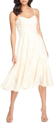 Dress the Population Flora Sequin Fit & Flare Dress