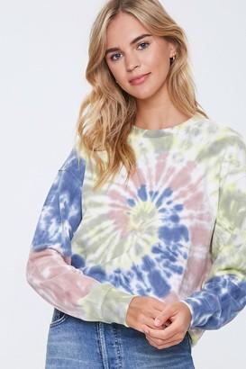 Forever 21 Tie-Dye Wash Sweatshirt