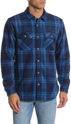 Valor Collective Caravan Plaid Regular Fit Faux Fur Lined Shirt