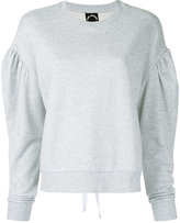 The Upside lace fleece crew neck sweatshirt - women - Cotton - XXS