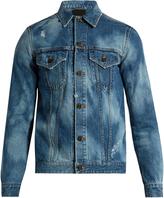 Saint Laurent Patch-detail denim jacket
