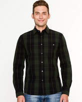 Le Château Check Print Cotton Shirt