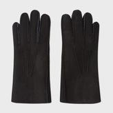 Paul Smith Men's Black Sheepskin Gloves