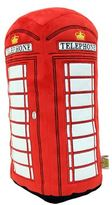 London Red Telephone Booth Cushion 3D
