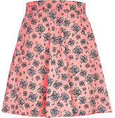River Island Womens Bright pink graphic print skirt