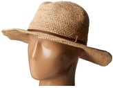 Hat Attack Raffia Crochet Continental