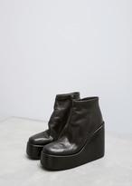 Marsèll Black Toffa Ankle Boot
