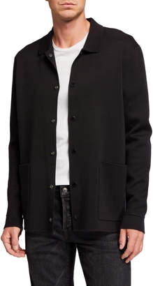 Scotch & Soda Men's Knit Snap-Button Cardigan Sweater