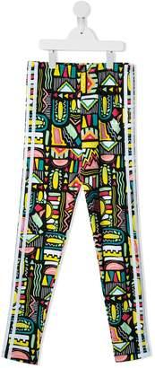 adidas Kids abstract print leggings