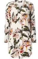 Dorothy Perkins Womens **Only Multi Colured 'Sonya' Flower Tunic- Fl Multi