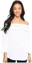 Brigitte Bailey Arctic Gem Off Shoulder Top Women's Clothing