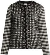 Sonia Rykiel Bead-embellished textured-knit jacket