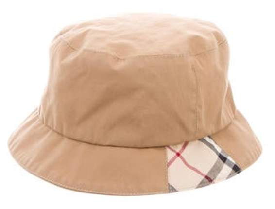 5d5ac894b Nova Check Bucket Hat Tan Nova Check Bucket Hat