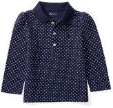 Ralph Lauren Polka-Dot Cotton Polo Shirt