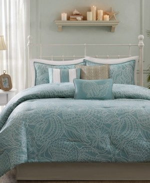 Madison Home USA Carmel 7-Pc. Queen Comforter Set Bedding