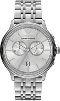 Emporio Armani Men's Chronograph Stainless Steel Bracelet Watch 43mm AR1796