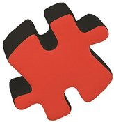 Lumisource CHR-OTTO-BK- R Two-Tone Puzzotto Black- Red
