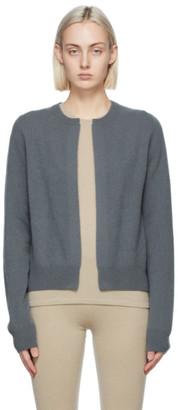 Frenckenberger Grey Cashmere Mini Cardigan