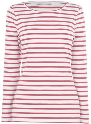Oui Striped Long Sleeve T Shirt