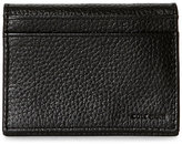 Cole Haan Black Pebbled Leather Passcase