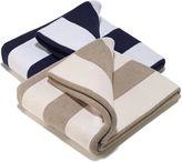 Aura Striped Throw Blanket
