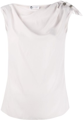 Lanvin Tank Top With Knot Detail