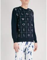 Loewe Letter-print Wool Jumper