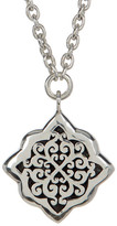 Lois Hill Sterling Silver Medium Hand Crafted Alhambra Pendant Necklace