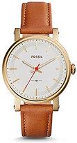 Fossil Original Boyfriend Sport Analog Leather-Strap Watch