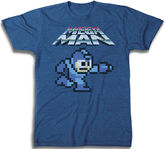 JCPenney Novelty T-Shirts Mega Man Graphic Tee