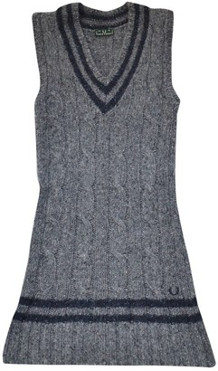 Fred Perry Grey Wool Knitwear for Women