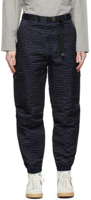 Clot Navy Nylon Boiler Cargo Pants