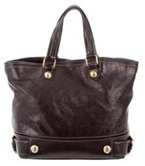 Dolce & Gabbana Distressed Leather Satchel