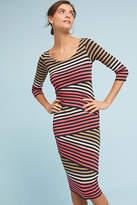 Bailey 44 Striped-Knit Column Dress