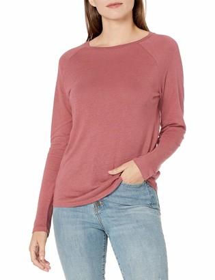 Goodthreads Linen Modal Jersey Long-Sleeve Raglan T-Shirt
