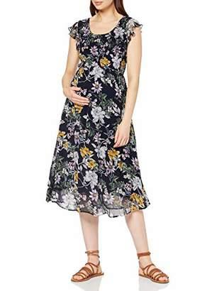 Ripe Maternity Women's Fleur Button Back Dress,L