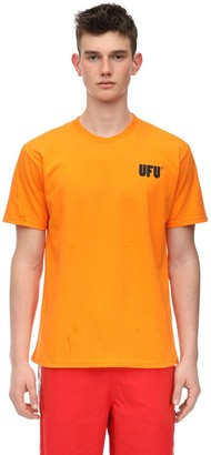Ufu   Used Future Ufu Ad Cotton Jersey T-Shirt