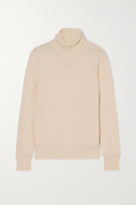 Loro Piana Cashmere Turtleneck Sweater - Cream
