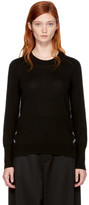 Burberry Black Merino Meigan Sweater